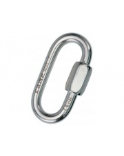 Karabinek stalowy Camp Oval QL INOX 5mm