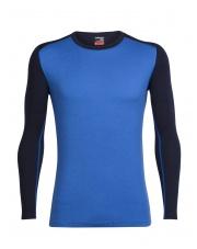 Koszulka Icebreaker M TECHTOP LS CREWE blue/dark blue