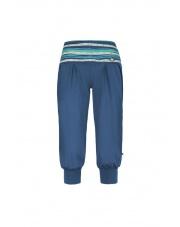 Spodnie wspinaczkowe 3/4 E9 W LUNA  cobalt blue