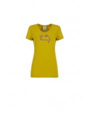 Koszulka wspinaczkowa E9 W FLIPP olive