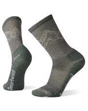 Skarpety Smartwool CLASSIC HIKE LIGHT CUSHION MOUNTAIN PATTER charcoal