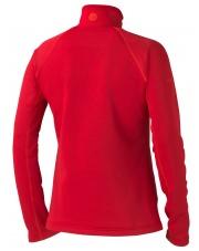 Bluza Marmot W'S STRETCH FLEECE 1/2 ZIP czerwony