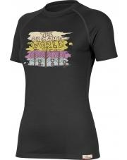 Koszulka damska Lasting ORGANIC black