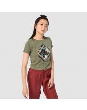 Koszulka Jack Wolfskin BRAND T WOMAN