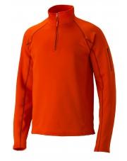 Bluza Marmot STRETCH FLEECE 1/2 ZIP pomarańczowy