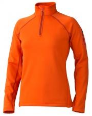 Bluza Marmot W'S STRETCH FLEECE 1/2 ZIP pomarańczowy