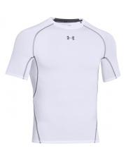 Koszulka UA ARMOUR HG COMPRESSION SS  white