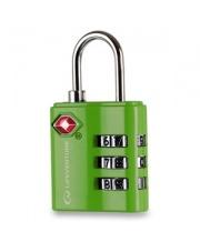 Kłódka bagażowa Lifeventure TSA Combi Lock green