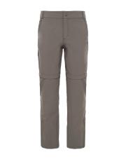 Spodnie TNF W EXPLORATION CONVERTIBLE PANT weimaraner brown